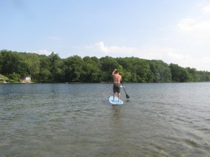 A Stand Up Paddle Board Renter